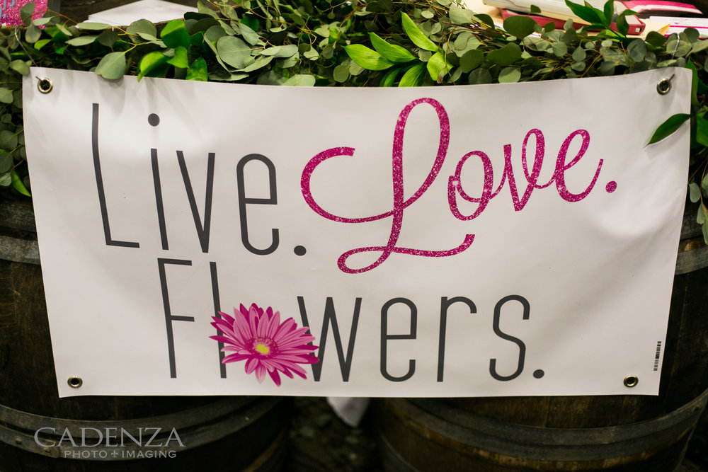 Image by  Cadenza Photo Imaging   Whiskey barrels rented from  Gracefully Vintage Events