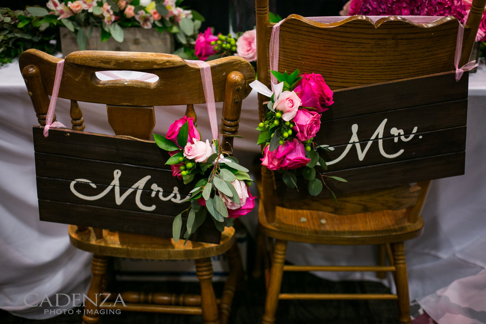 Image by Cadenza Photo Imaging Chairs from Laladoodles Boutique Wood signs by Craft Savy