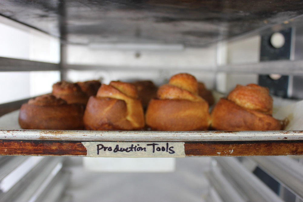 i think this speaks to the mission of my sister's work. helping people have careers through the power of pastries. these pastries are the production tools for success