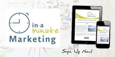 In a minute marketing