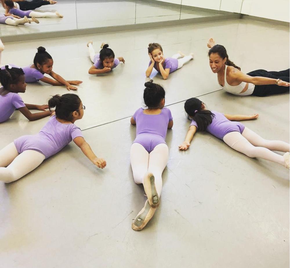 Teaching Pre-Ballet at Ballet School Of Stamford
