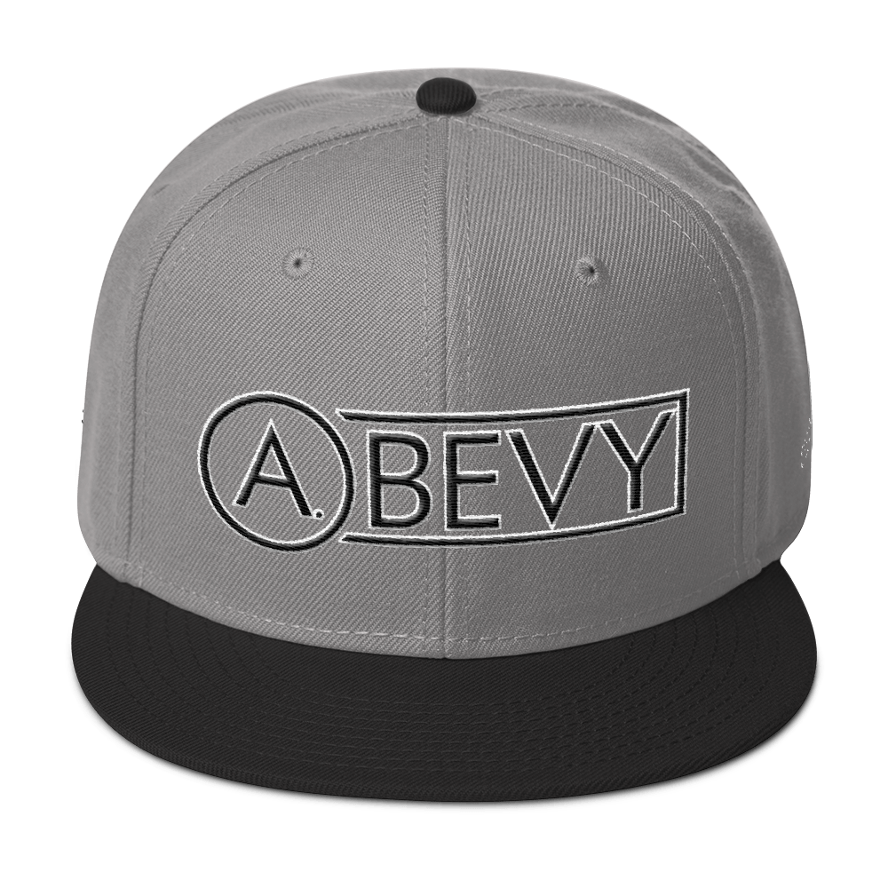 High-Profile-Hat-Black-Outlined_A.Bevy-Full-PNG-Black_Black-Bird_CREATE_mockup_Front_Black--Gray--Gray.png