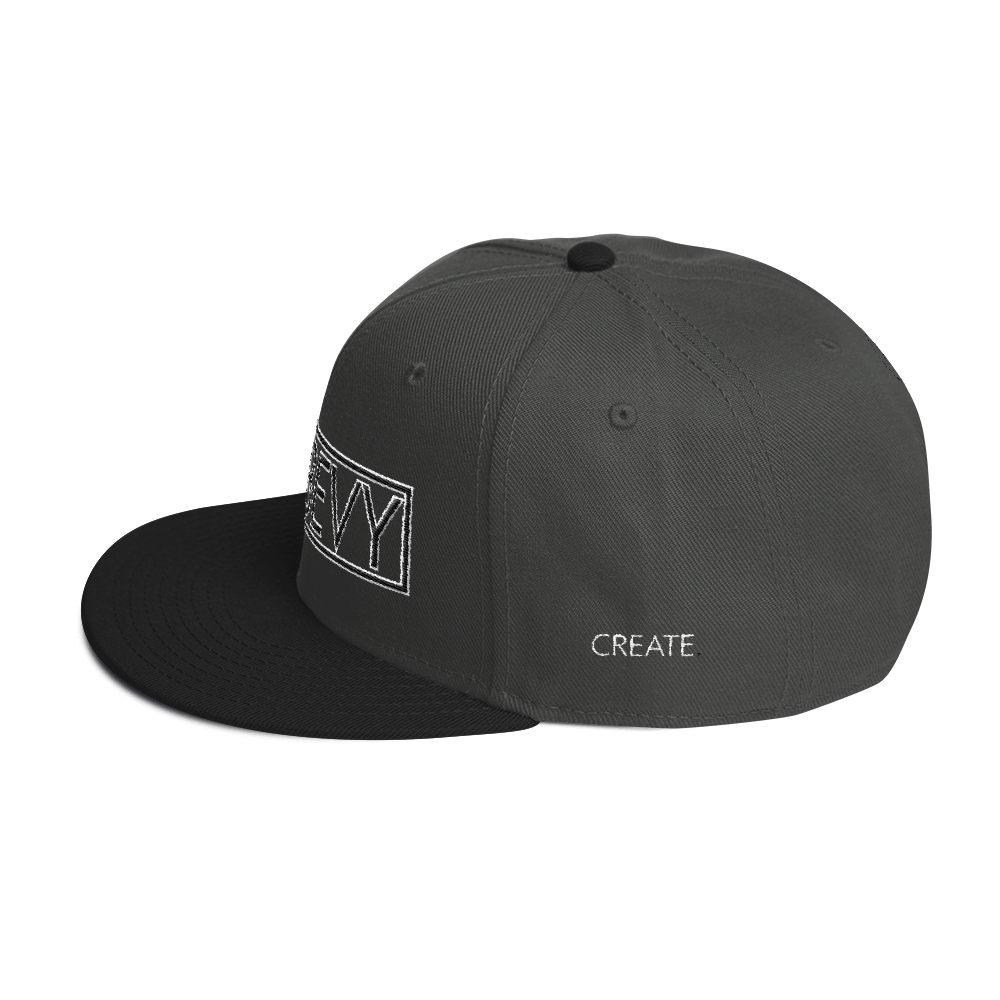 High-Profile-Hat-Black-Outlined_A.Bevy-Full-PNG-Black_Black-Bird_CREATE_mockup_Left-Side_Black--Charcoal-gray--Charcoal-gray.png