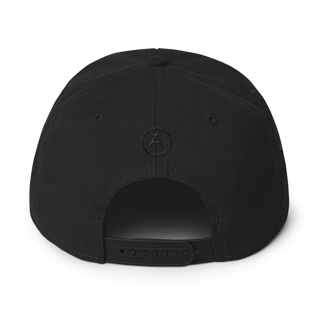 High-Profile-Hat-Black-Outlined_A.Bevy-Full-PNG-Black_Black-Bird_CREATE_mockup_Back_Black.png