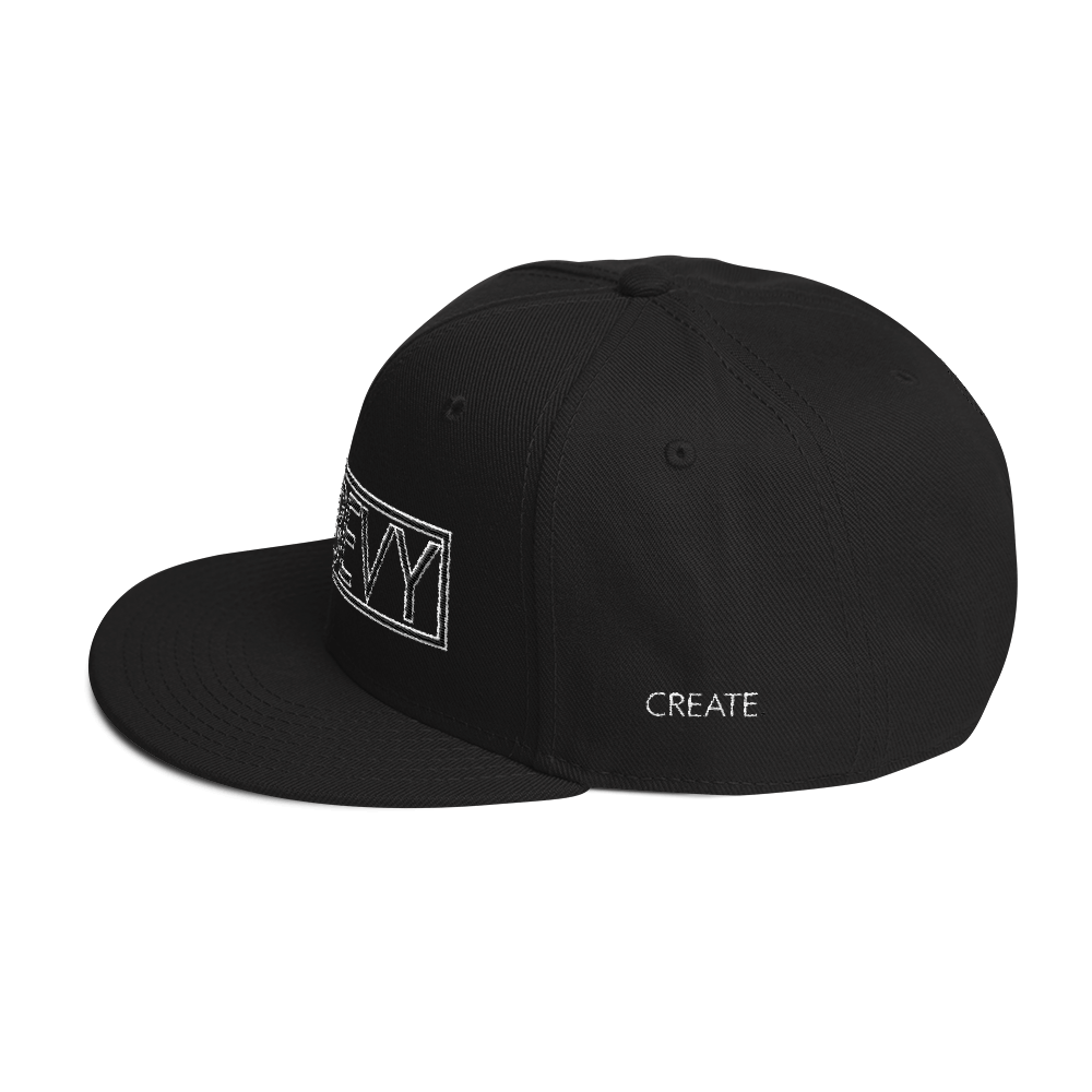 High-Profile-Hat-Black-Outlined_A.Bevy-Full-PNG-Black_Black-Bird_CREATE_mockup_Left-Side_Black.png