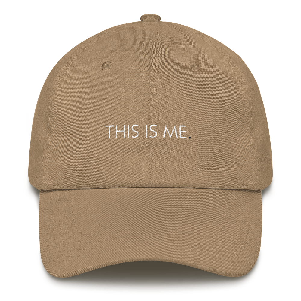 THIS-IS-ME_A.Bevy-Logo-White_mockup_Front_Khaki.png