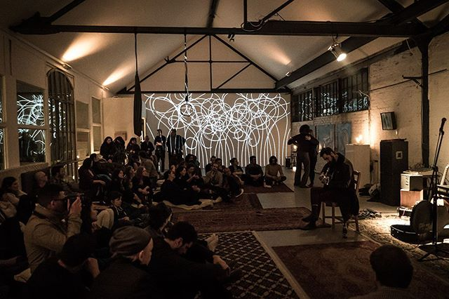 Open stage performance party with friends in our atelier space in Berlin. Everybody was invited to share their creations including art, music, dance, performance and visuals. My FLORA installation was floating around in the background... #inTheStudio #openStage #berlinArt
