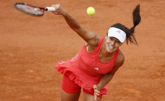 Ana Ivanovic, French Open final, 2008.