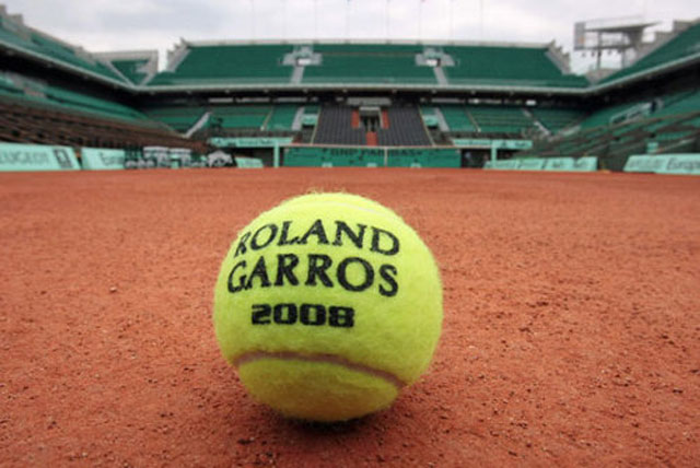 French Open court 2008