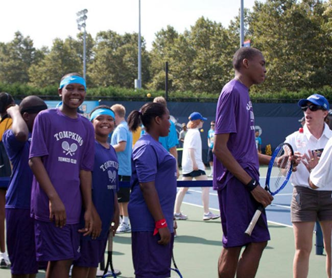 KCTL at Arthur Ashe Kids Day