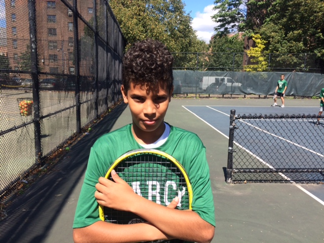 12-year-old KCTL Marcy Club standout, Jonathan Del Rosario, will start competitive training and play tournaments this fall.
