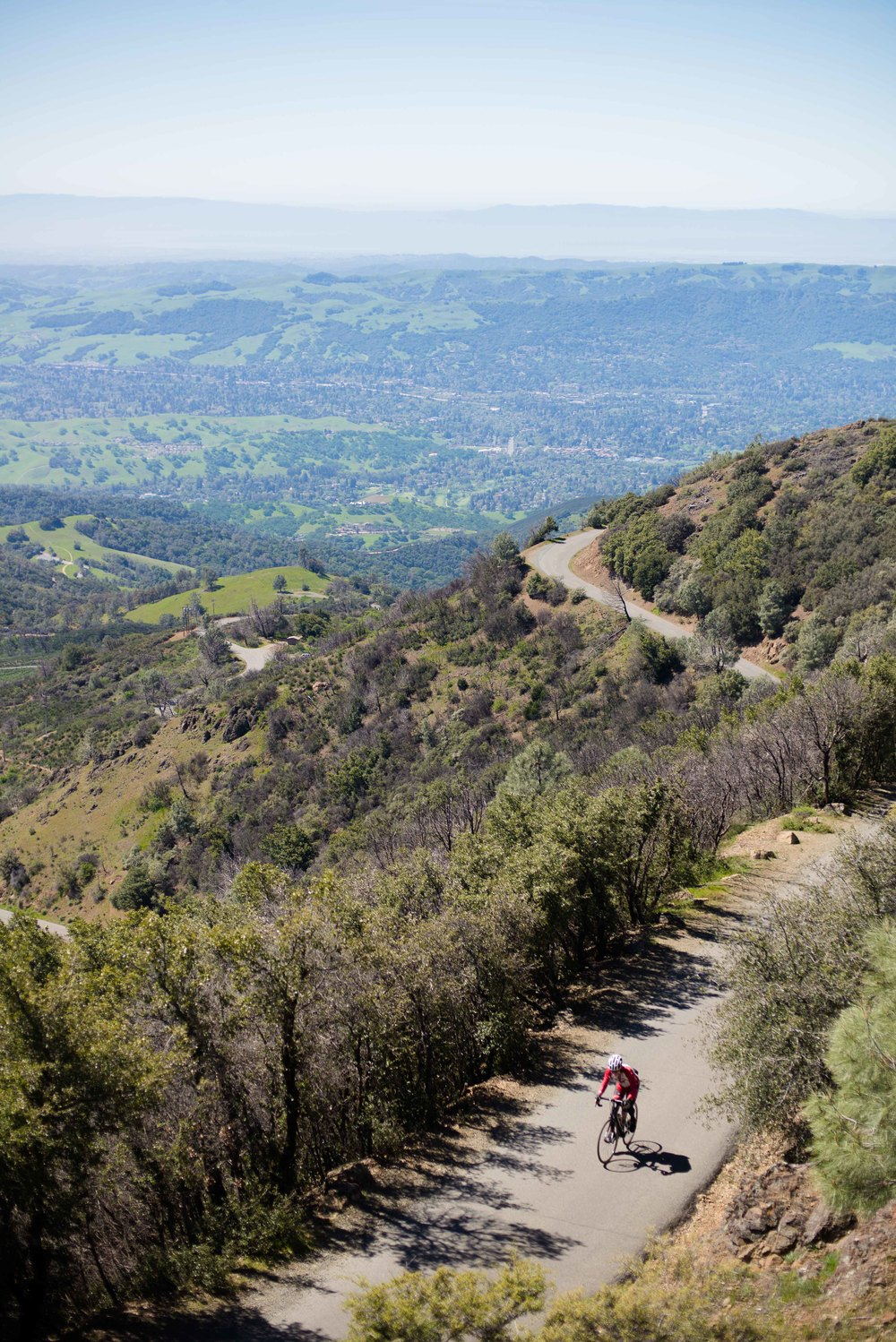 Mount Diablo Cyclist