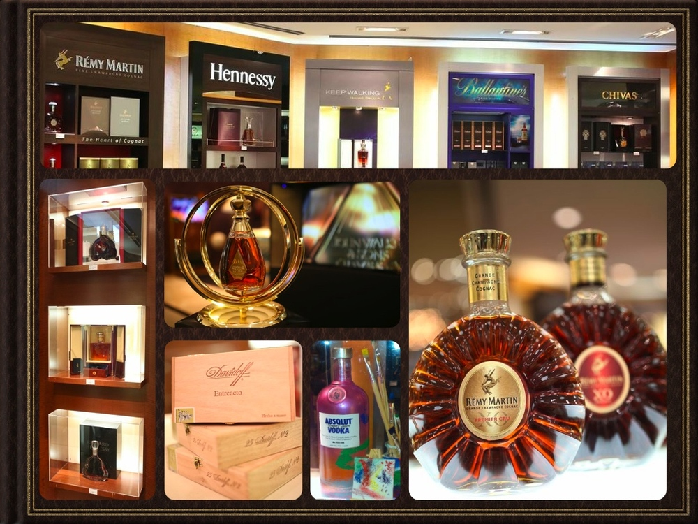 Spirits Brand Merchandising