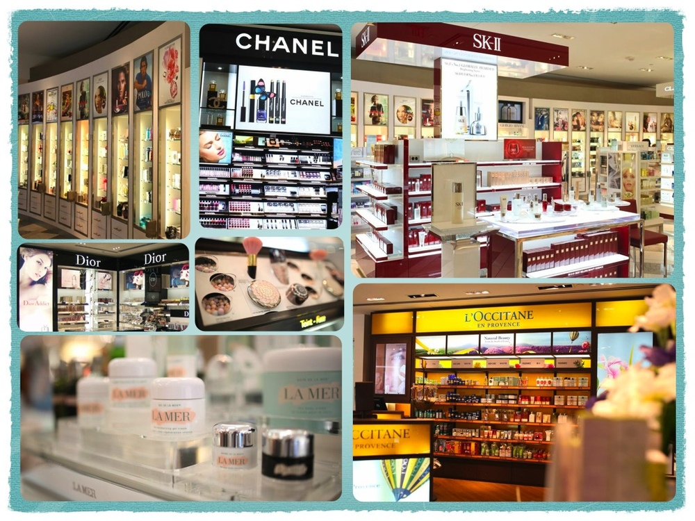 Fragrance Cosmetics Brand Merchandising