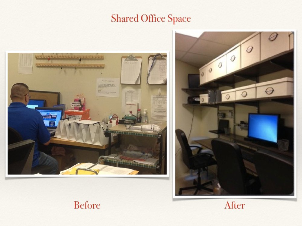 Before and After Shared Office Space