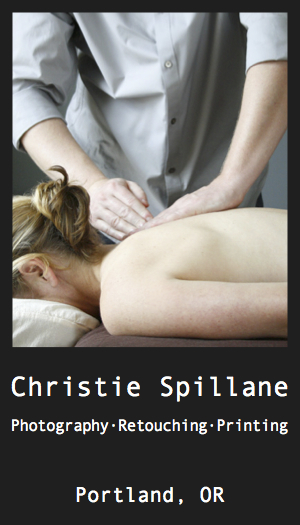 Business Card Front Massage
