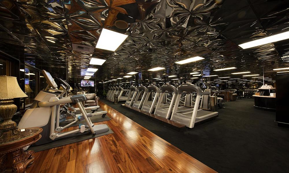 Fully equipped gym and resort fitness center.