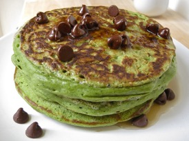 matcha-green-tea-pancakes
