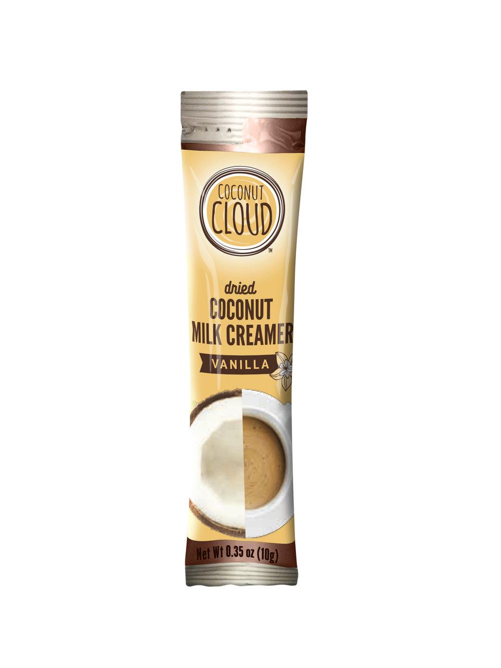 to go dried coconut milk vanilla creamer