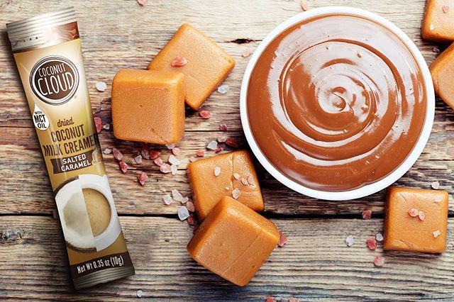 Creamy dreamy caramel...nuff said.