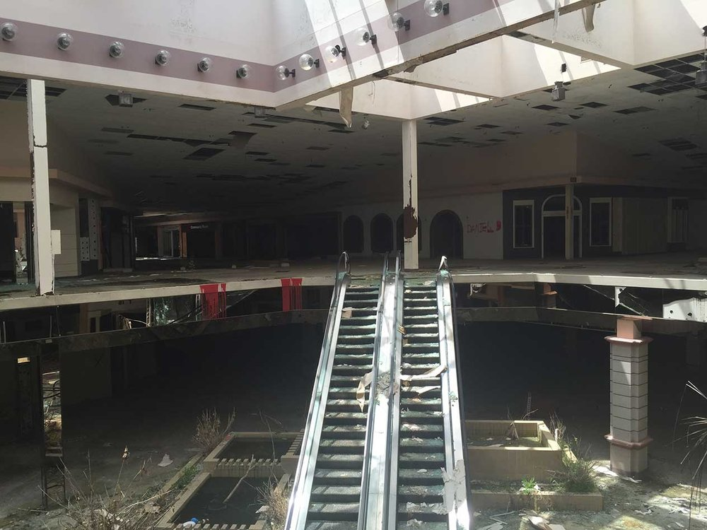 Abandoned Mall image inspiration