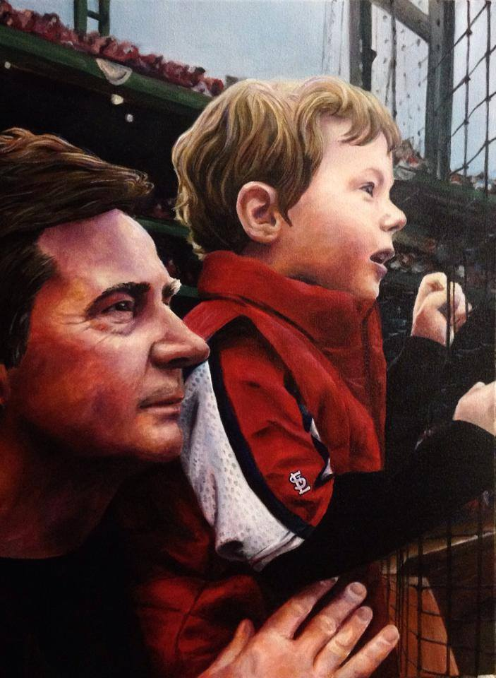 Tony Stubblefield_Cardinals_Father and Son_Christie Snelson_baseball.jpg