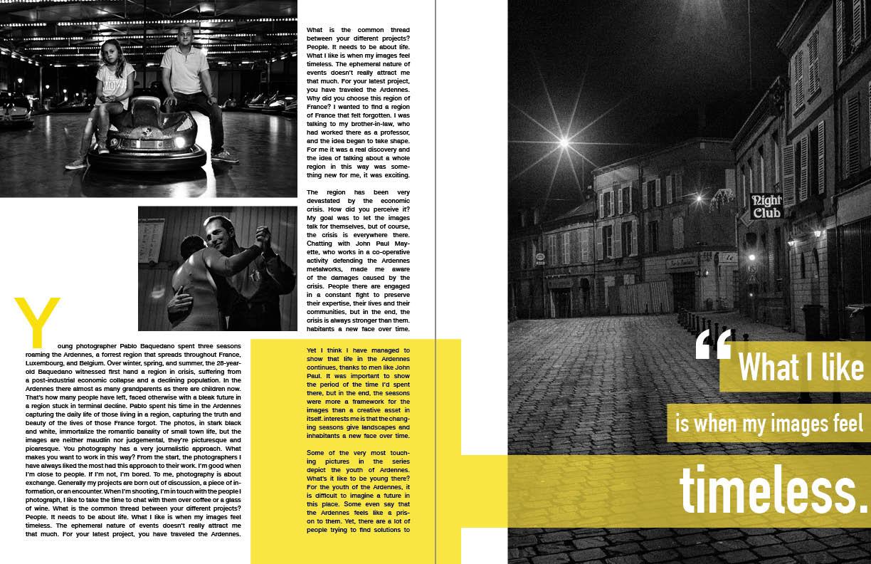 layout magazine article julia bialko