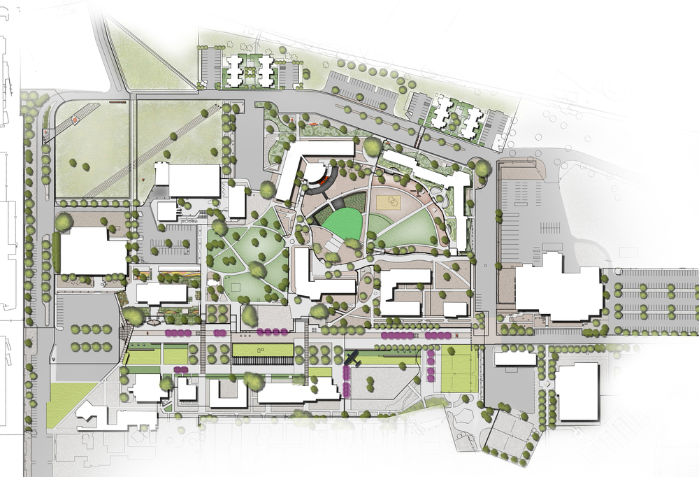 Santa Fe University of Art + Design Master Plan