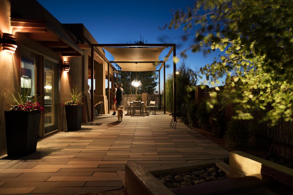 Santa Fe Backyard