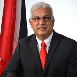 Terrence Deyasingh – Minister of Health, Republic of Trinidad and Tobago