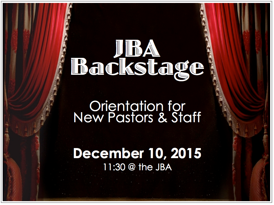 JBA Backstage 2015