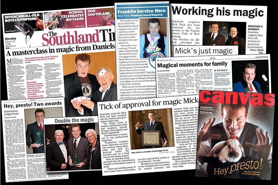 mick-peck-magic-newspaper-photographs