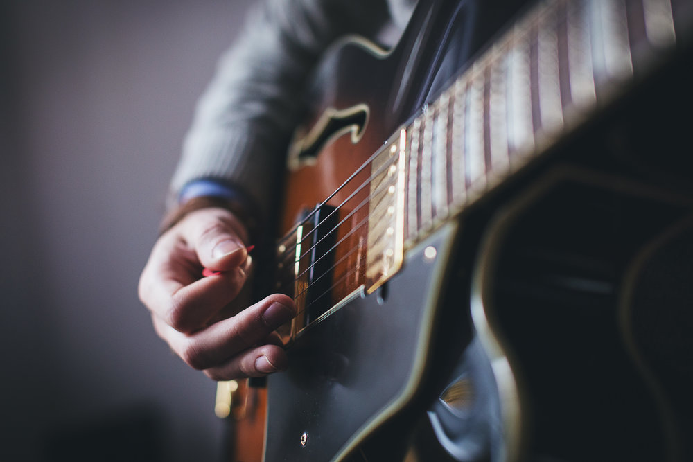 E-Gitarre -