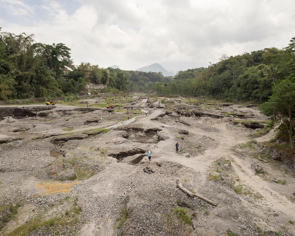 Mount Merapi 2016:Quarry - 1