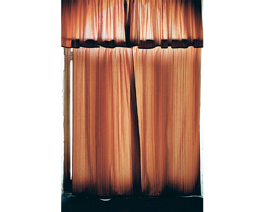 Curtains, Sicily, 2015