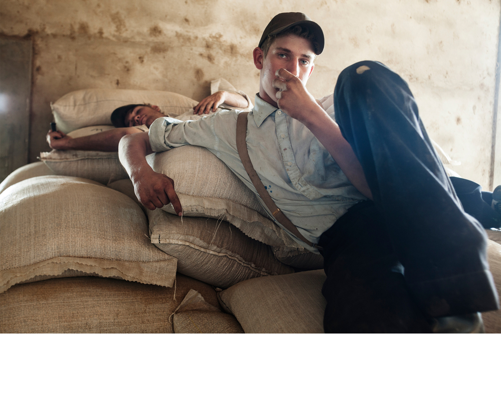 Menonos: Young Mennonites Resting After Work