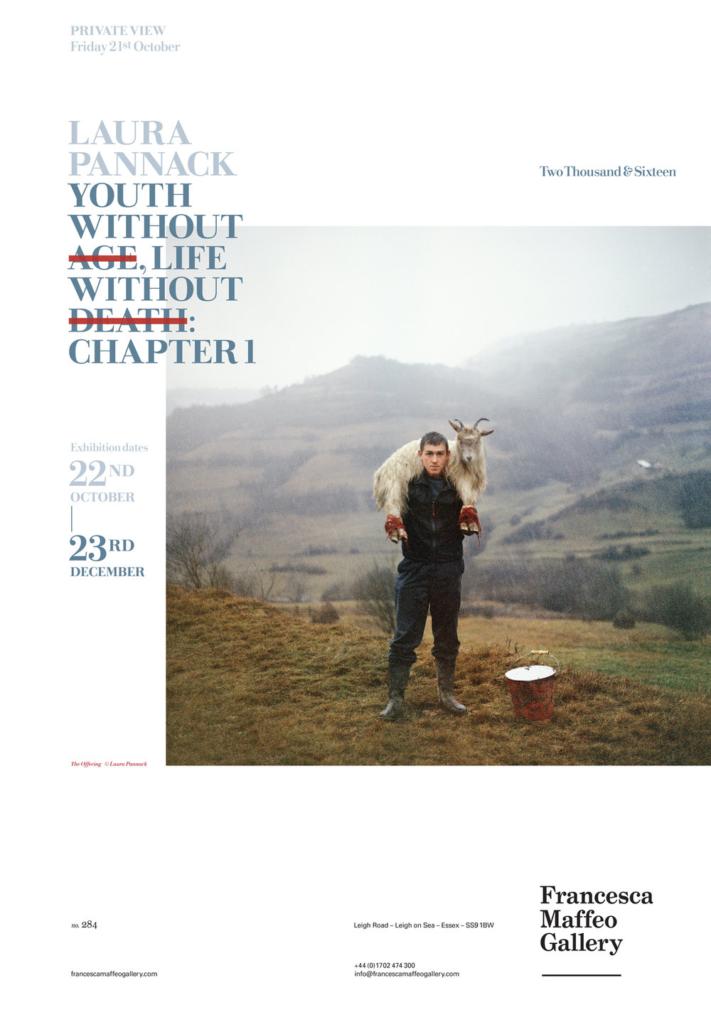 Laura Pannack | Youth Without Age, Life Without Death     Press Release      Print Sales