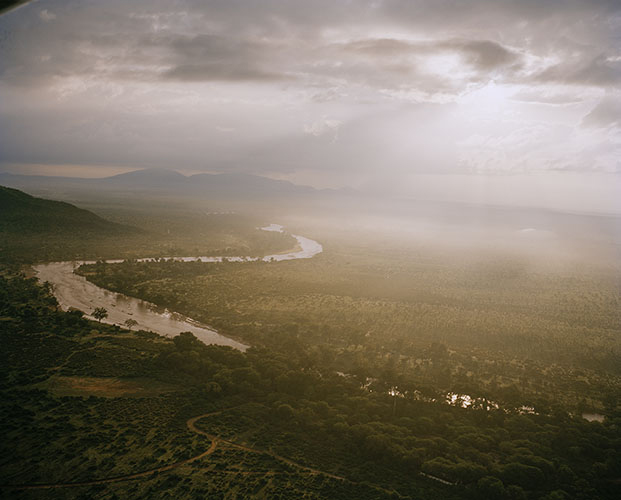 DC 024.50 001 rainstorm, ewaso nyiro river, northern kenya-from the series 'with butterflies and warriors'-David Chancellor.jpg