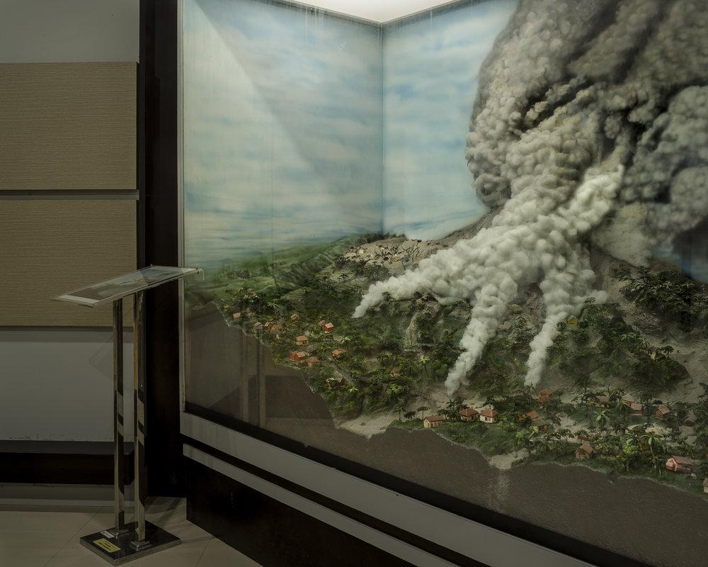 (Isidro Ramirez) Diorama at Merapi museum,Yogyakarta.jpg