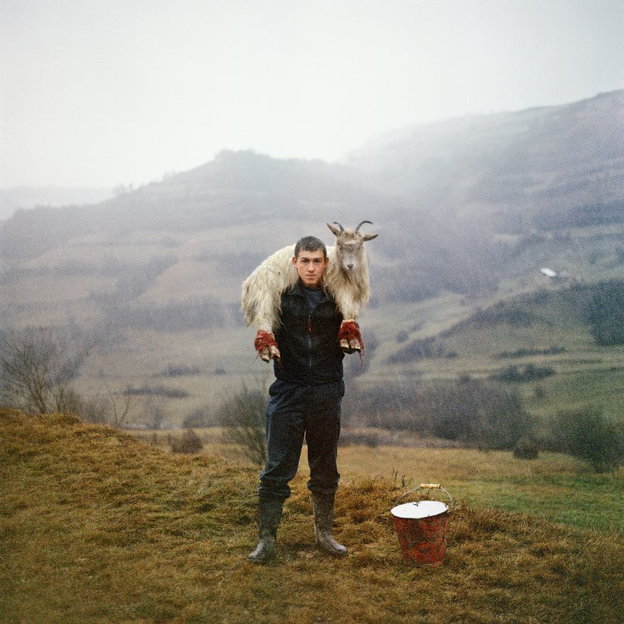 The Offering, they gotused to each other bit bybit - Pannack brought the work together over four years, shot entirely in rural Romania