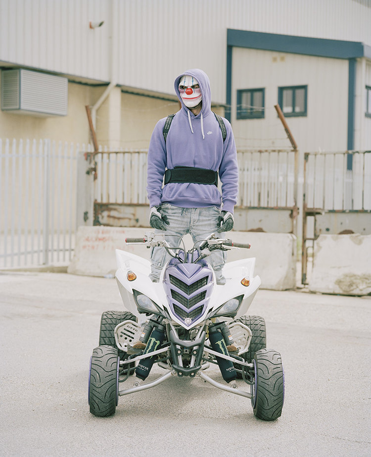 Mickey Raptor, Urban Dirt Bikers © Spencer Murphy