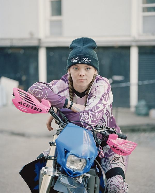 Naomi, Urban Dirt Bikers © Spencer Murphy