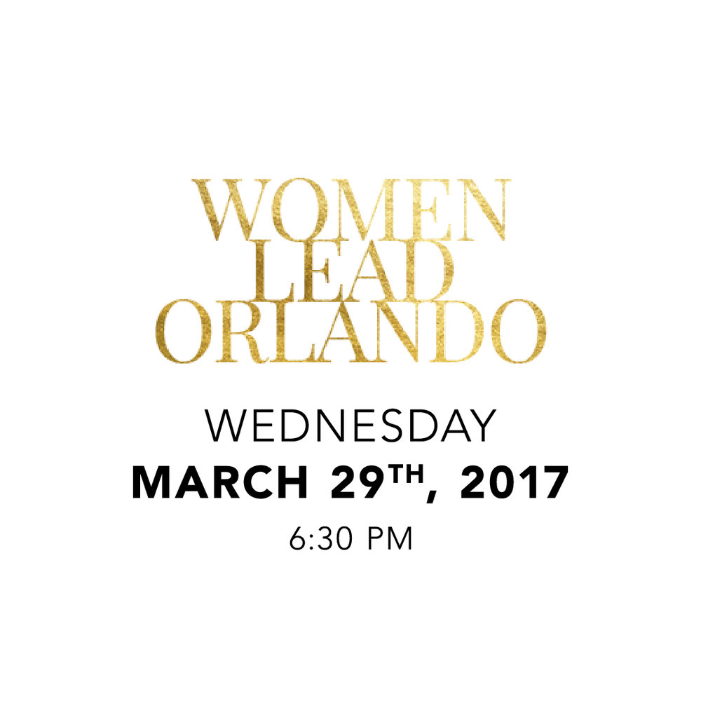 Women Lead Orlando - March 29, 2017