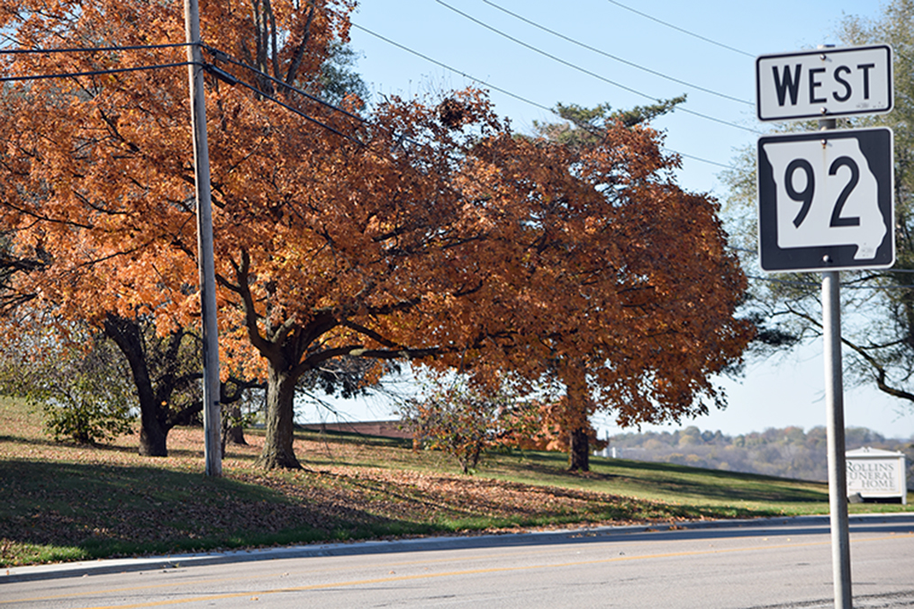 BRYCE MERENESS/Citizen photo Officials are starting a Highway 92 Corridor Study to help shape the future of the roadway in Platte City from Bethel Road on the east to Highway 273 on the west.