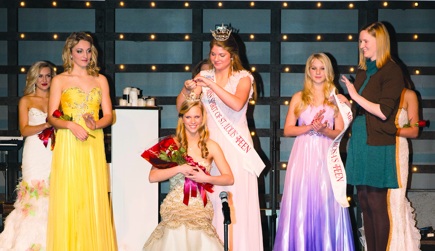Miss Zona Rosa Outstanding Teen Debrielle Merrill was crowned in February of this year and was Top 10 in the state for Miss Missouri Outstanding Teen. Contributed photo