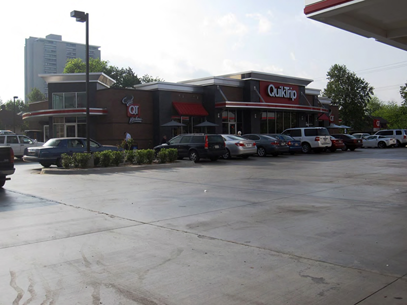 "Contributed photo An example of a current ""generation three"" model QuikTrip store"
