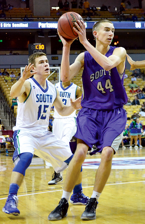 Citizen file photo Park Hill South junior Ryan Welty
