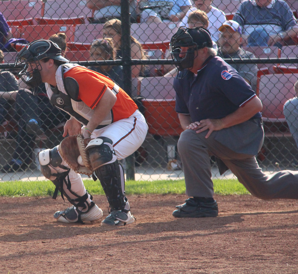 Citizen File Photo Platte County junior catcher Justin Mitchell