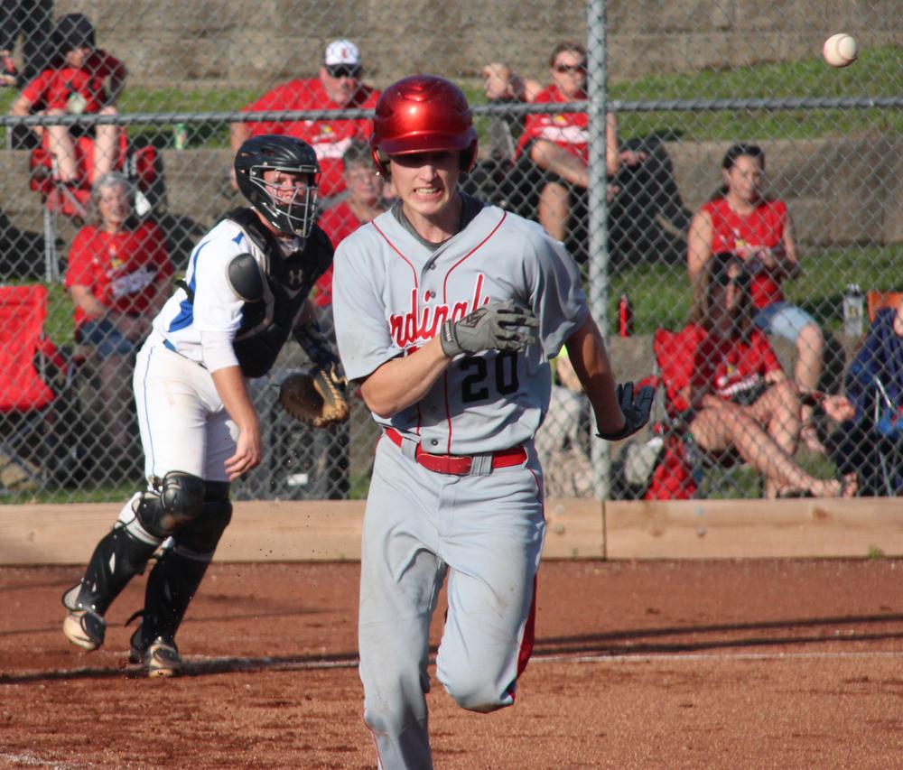 Citizen File Photo West Platte senior catcher Peyton Morris