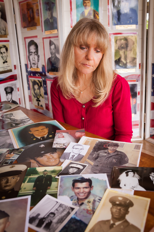 Contributed photo Janna Hoehn of Hawaii continues to work toward helping the Vietnam Veterans Memorial Fund collect pictures of all soldiers killed during service in the Vietnam War. She needs two pictures of Platte County veterans.